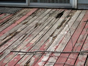 Dry Rot Deck 2